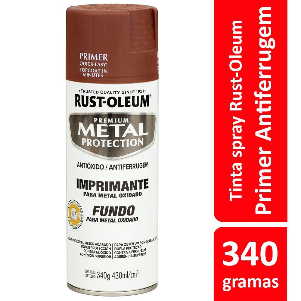 Primer Antiferrugem para Proteção de Metal Zarcão Spray 340g Rust Oleum