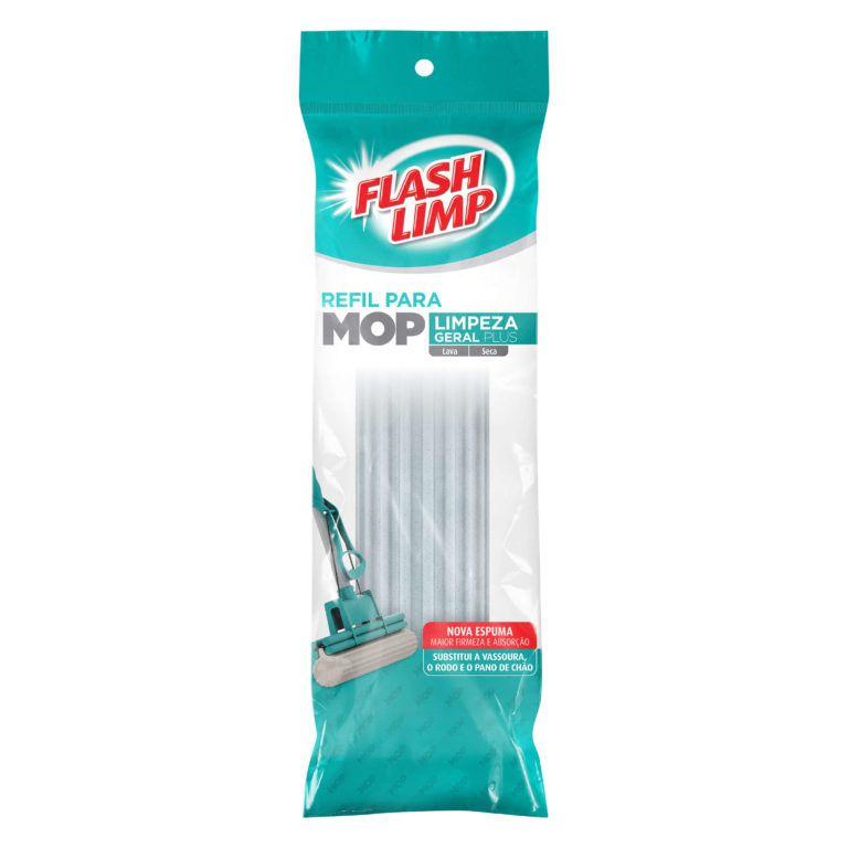 Refil Para Mop Limpeza Geral Plus Flash Limp