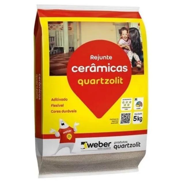 Rejunte Bege 5kg Quartzolit