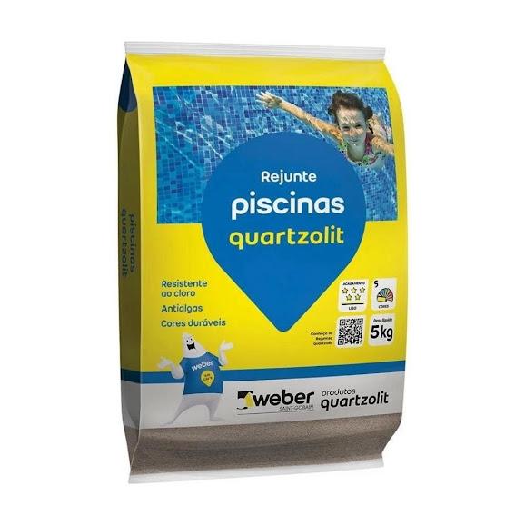 Rejunte Piscina Branco 5Kg Quartzolit