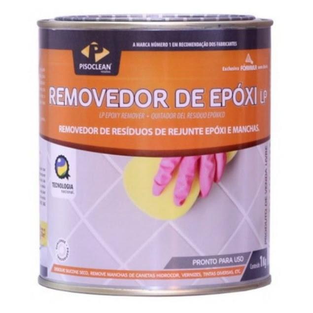 Removedor de Rejunte Epoxi 1kg Pisoclean
