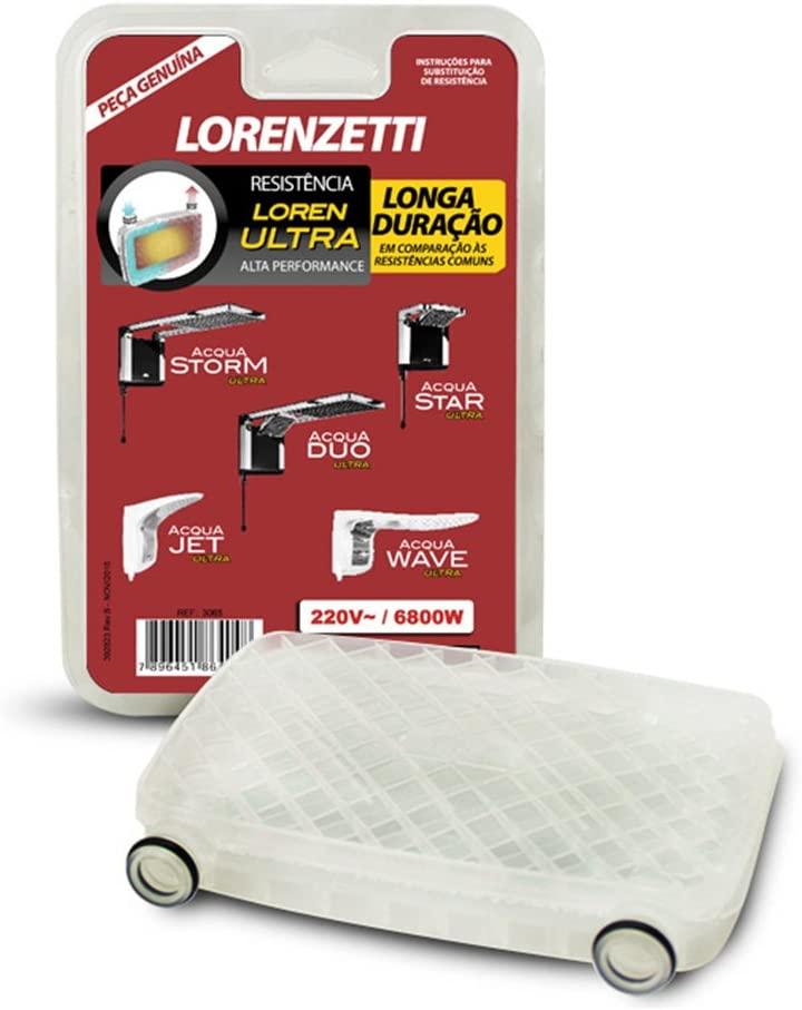 Resistência Acqua Duo Ultra 7800W 220V 3065B Lorenzetti