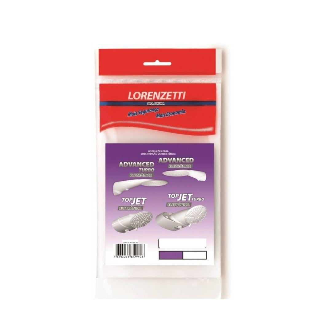 Resistência Advanced Turbo Eletrônica 7500W 220V 3056F Lorenzetti