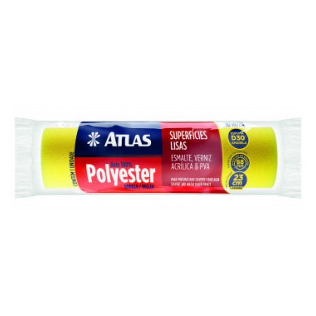 Rolo para Pintura 100% Espuma Polyester 23cm 406/23A Atlas