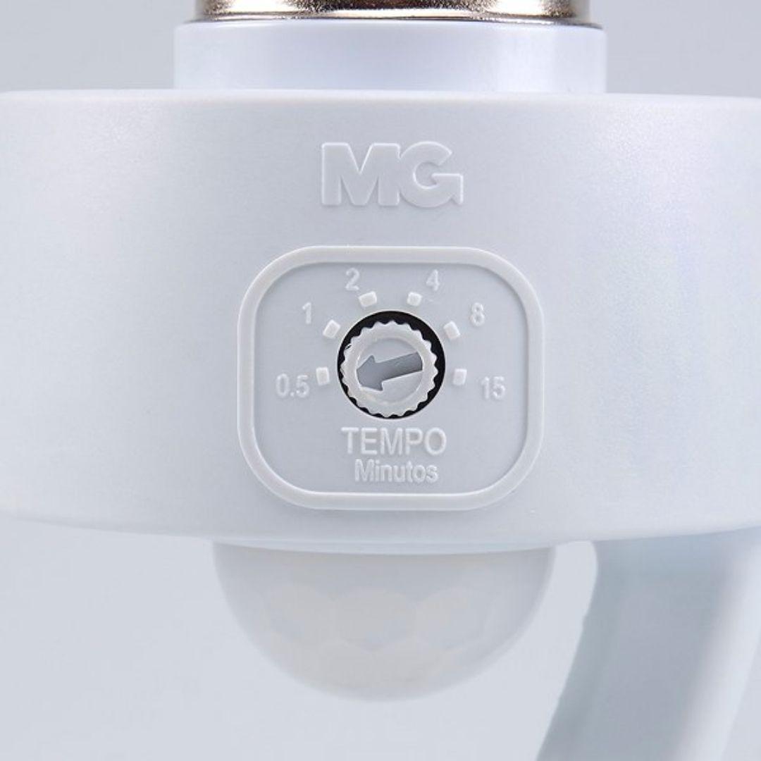 Sensor de Presença Com Soquete E27 Ajustável MPQ-40F Margirius