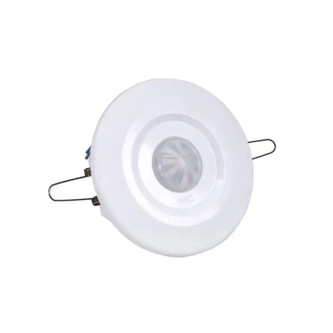 Sensor de Presença de Teto Embutir c/ Fotocélula Branco MPT-40EF Margirius