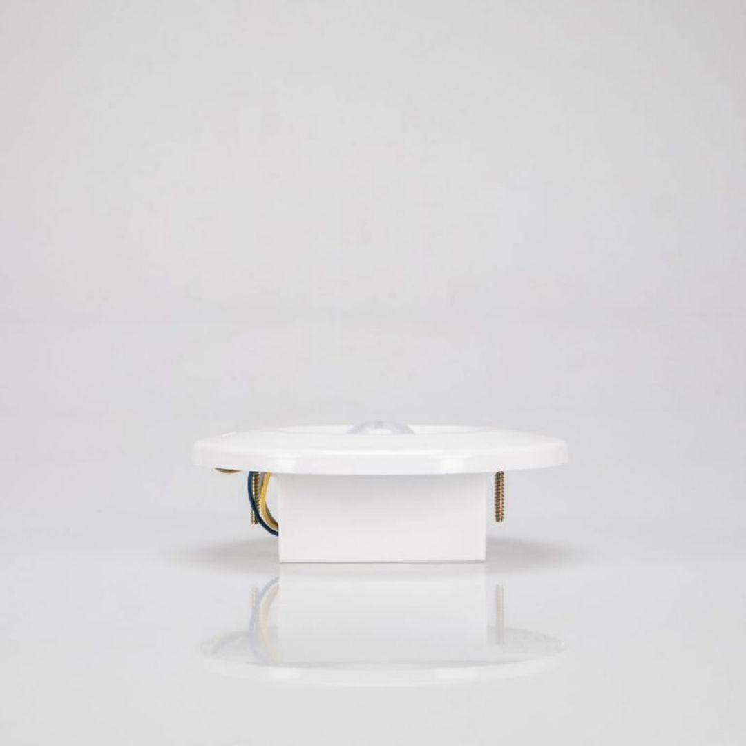 Sensor de Presença de Teto Embutir c/ Fotocélula Branco MPT-40LF Margirius