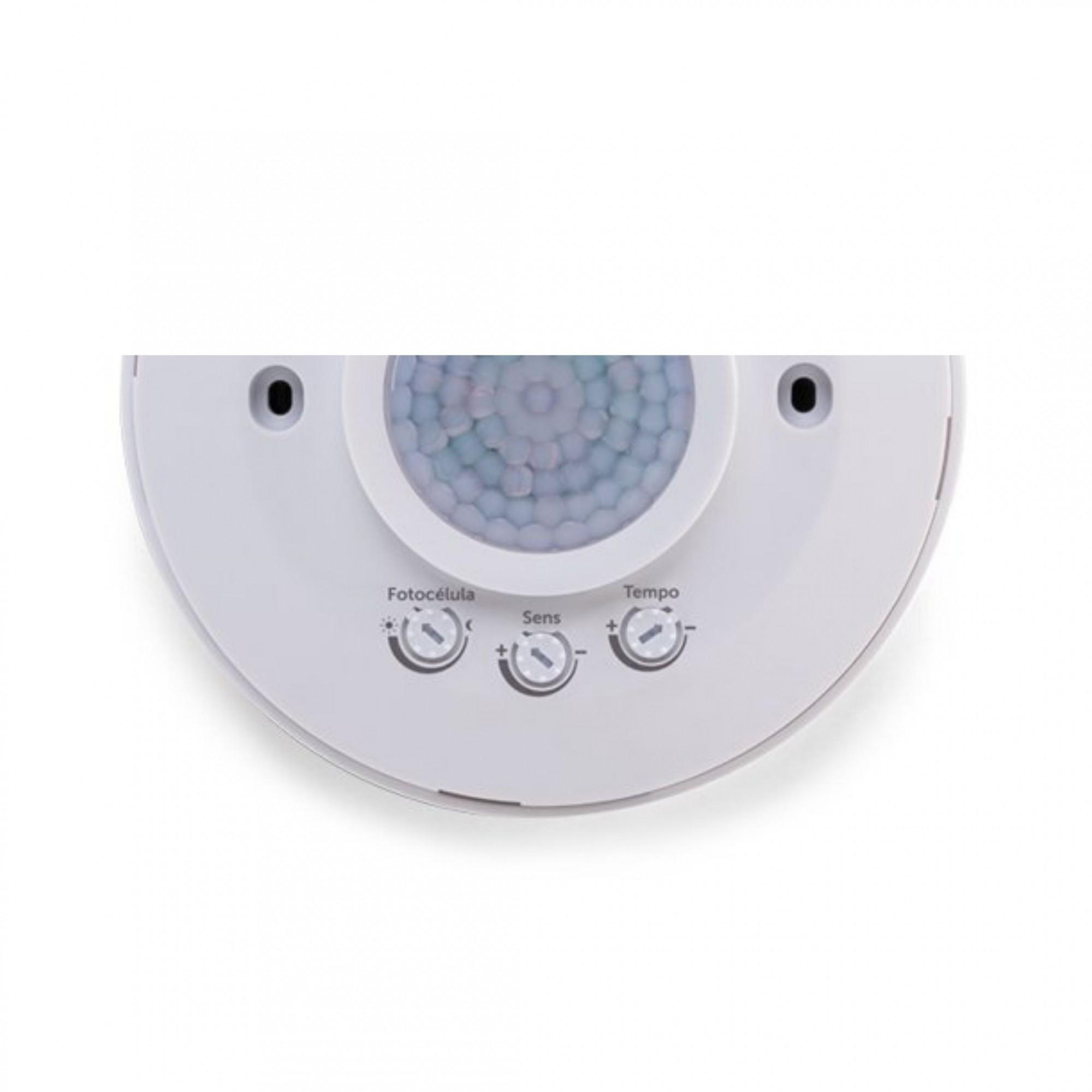 Sensor de Presença de Teto para Iluminação de Sobrepor ESP 360 Intelbras