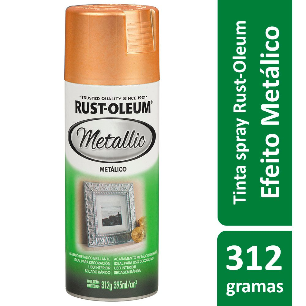 Spray Cobre Metálico 395ml Ref: 272075 Rust-Oleum