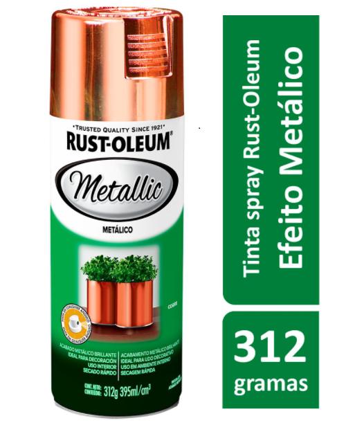 Spray Cobre Metálico 395ml Ref: 272075 Rust-Oleum