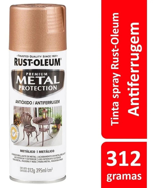 Spray Metal Protection Anticorrosivo Oro Rosa 340g Rust Oleum