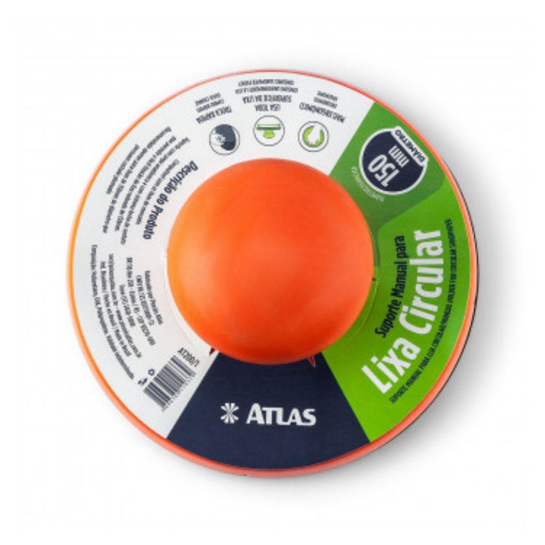 Suporte Para Disco Abrasivo Redondo com Velcro at200/1 Atlas