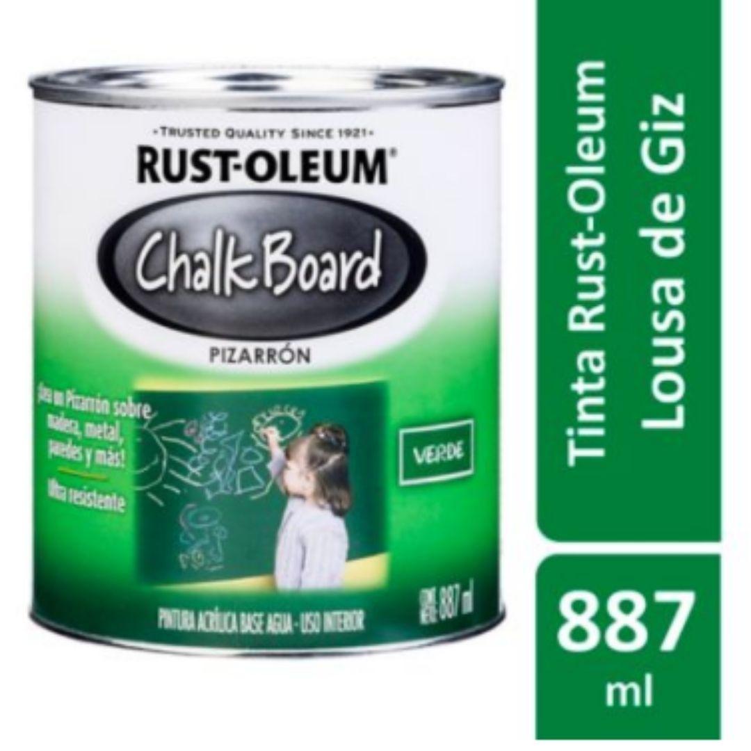Tinta Lousa ChalkBoard Verde Fosco 887ml Rust Oleum