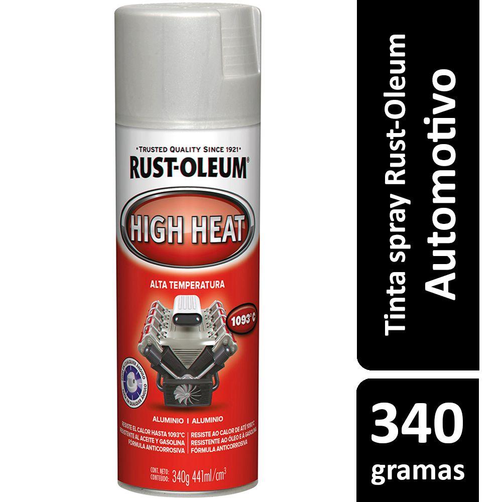 Tinta Spray Automotiva Alta Temperatura Alumínio Rust Oleum