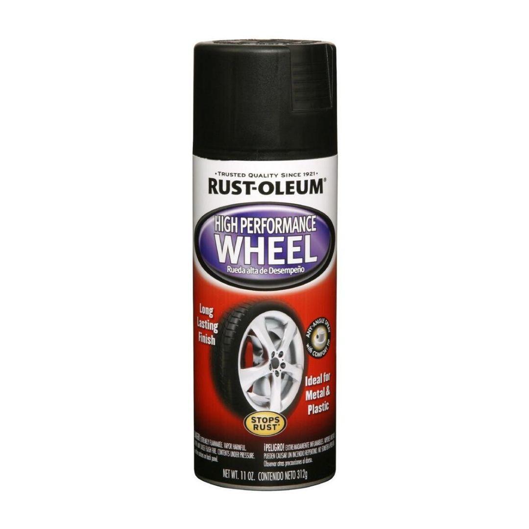 Tinta Spray Automotiva Para Rodas Aço Brilhante Rust Oleum