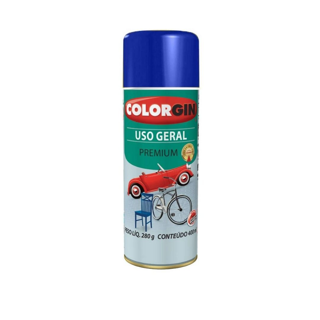 Tinta Spray Azul Colonial 400ml Ref: 55071 Colorgin