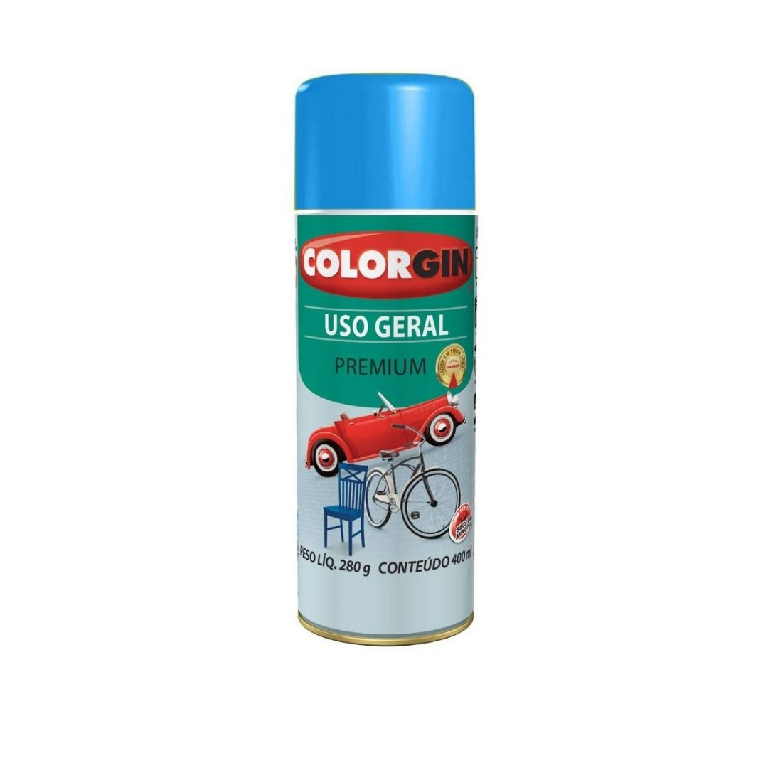Tinta Spray Azul Medio 400ml Ref: 55101 Colorgin