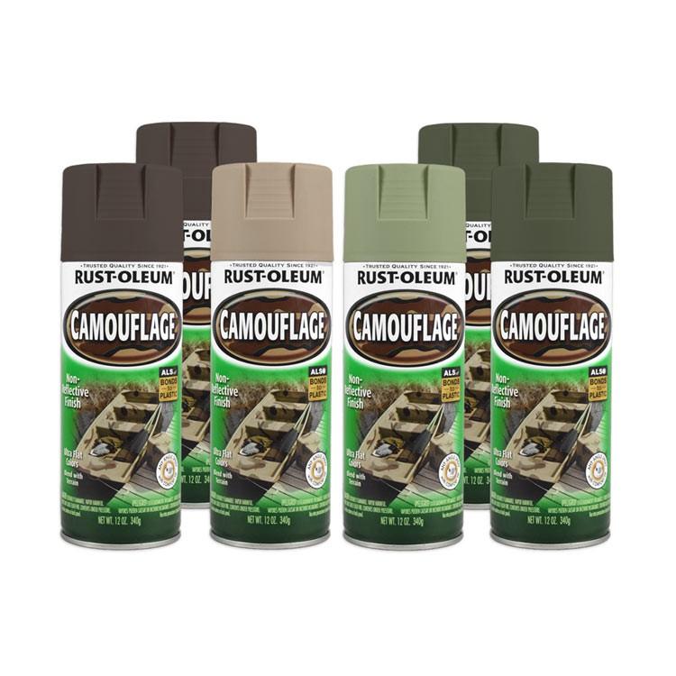 Tinta Spray Camuflagem Caqui Rust Oleum