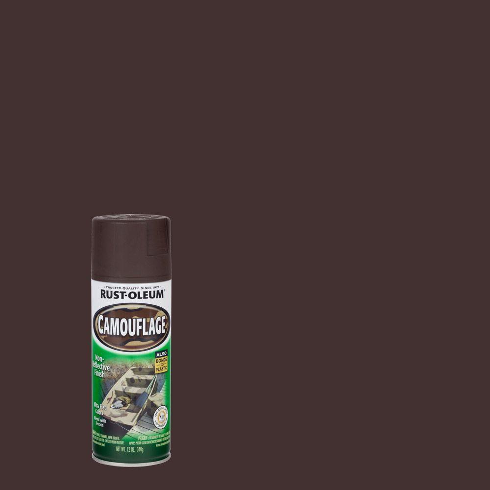 Tinta Spray Camuflagem Marrom Terra Rust Oleum