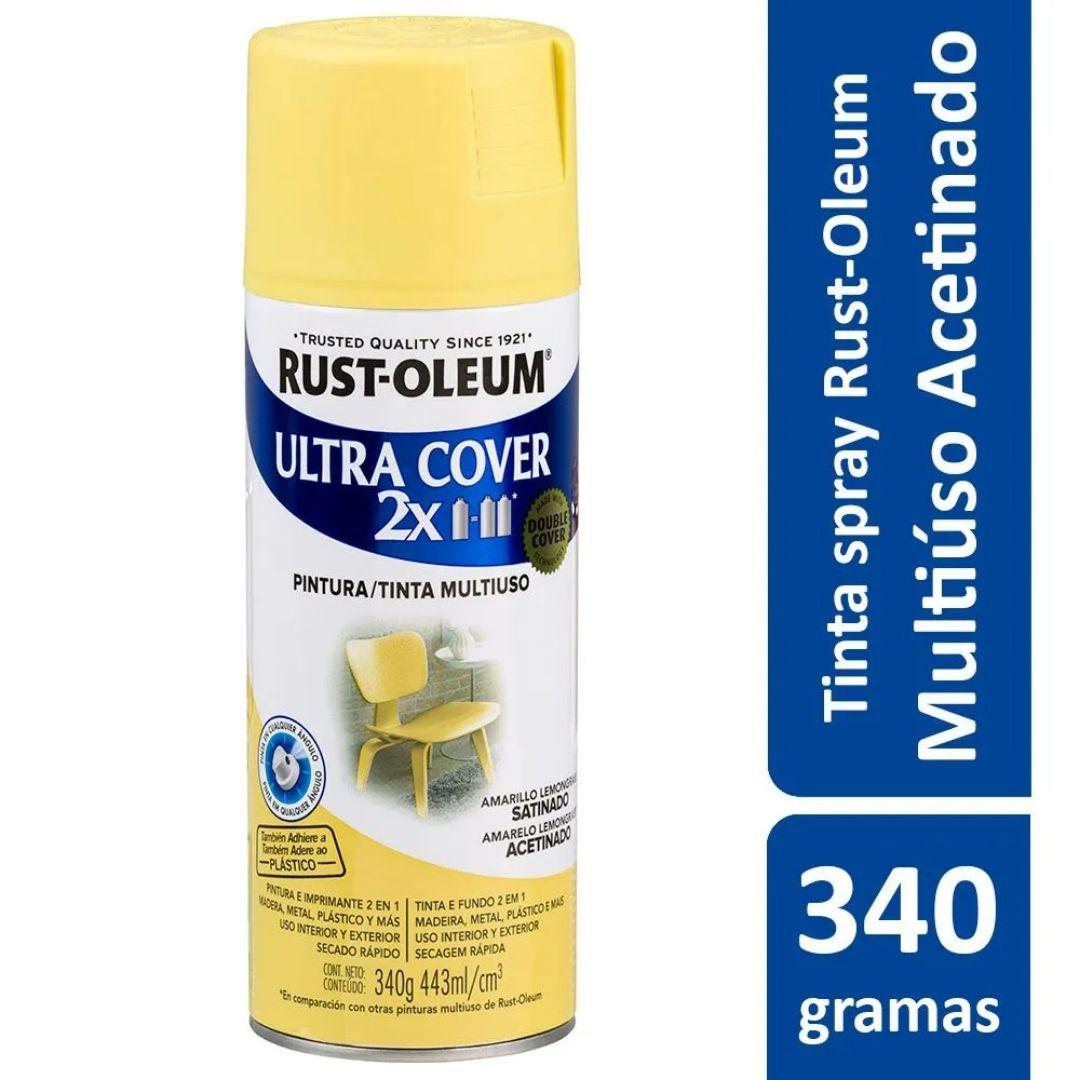 Tinta Spray Ultra Cover Capim Limão Acetinado Rust Oleum