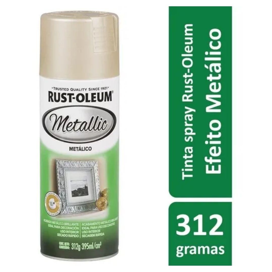 Tinta Spray Metallic Champagne Rust Oleum