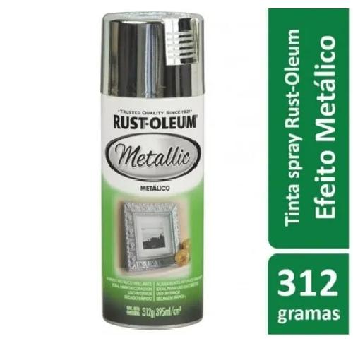 Tinta Spray Metallic Cromo Rust Oleum