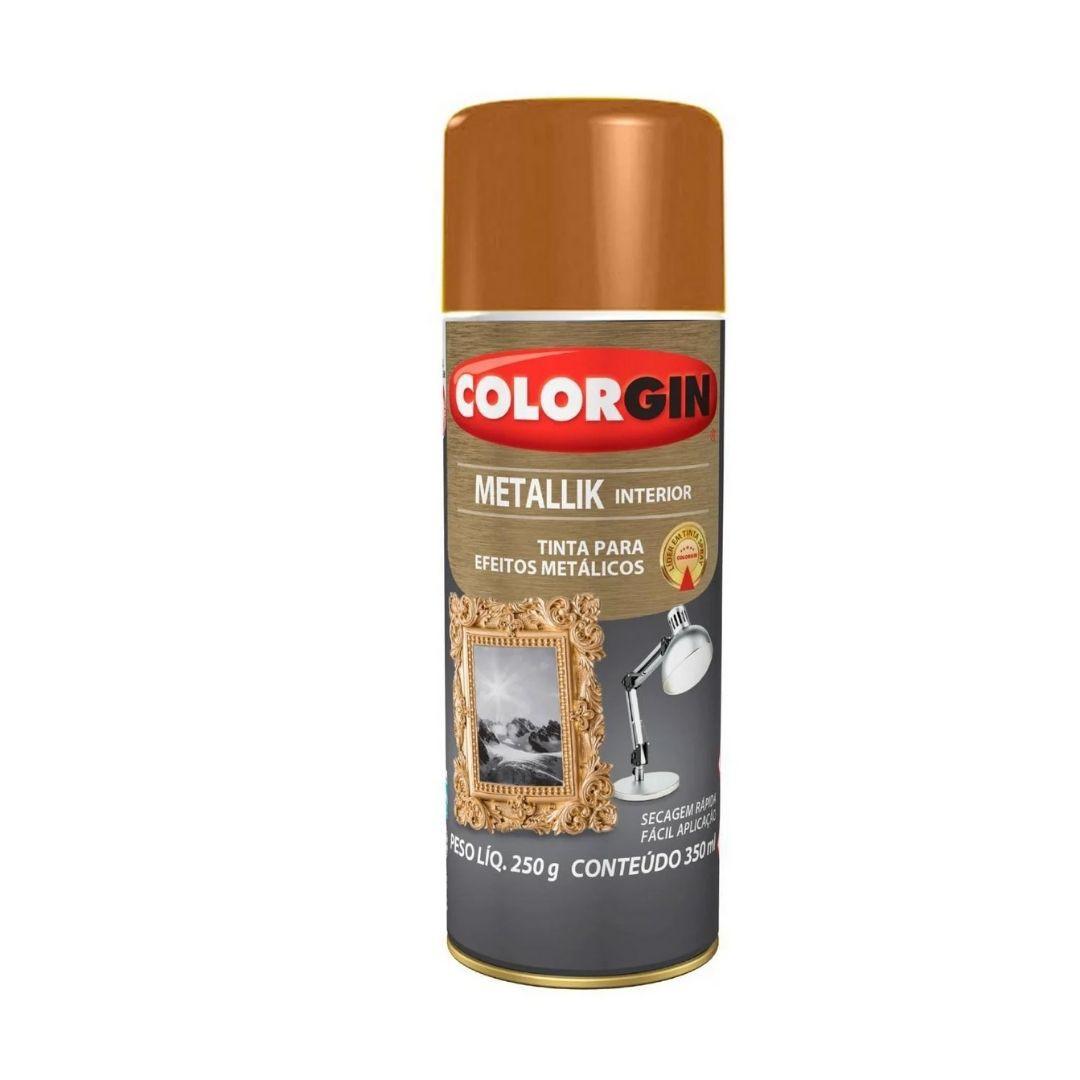 Tinta Spray metallik Cobre 350ml Ref: 054 Colorgin