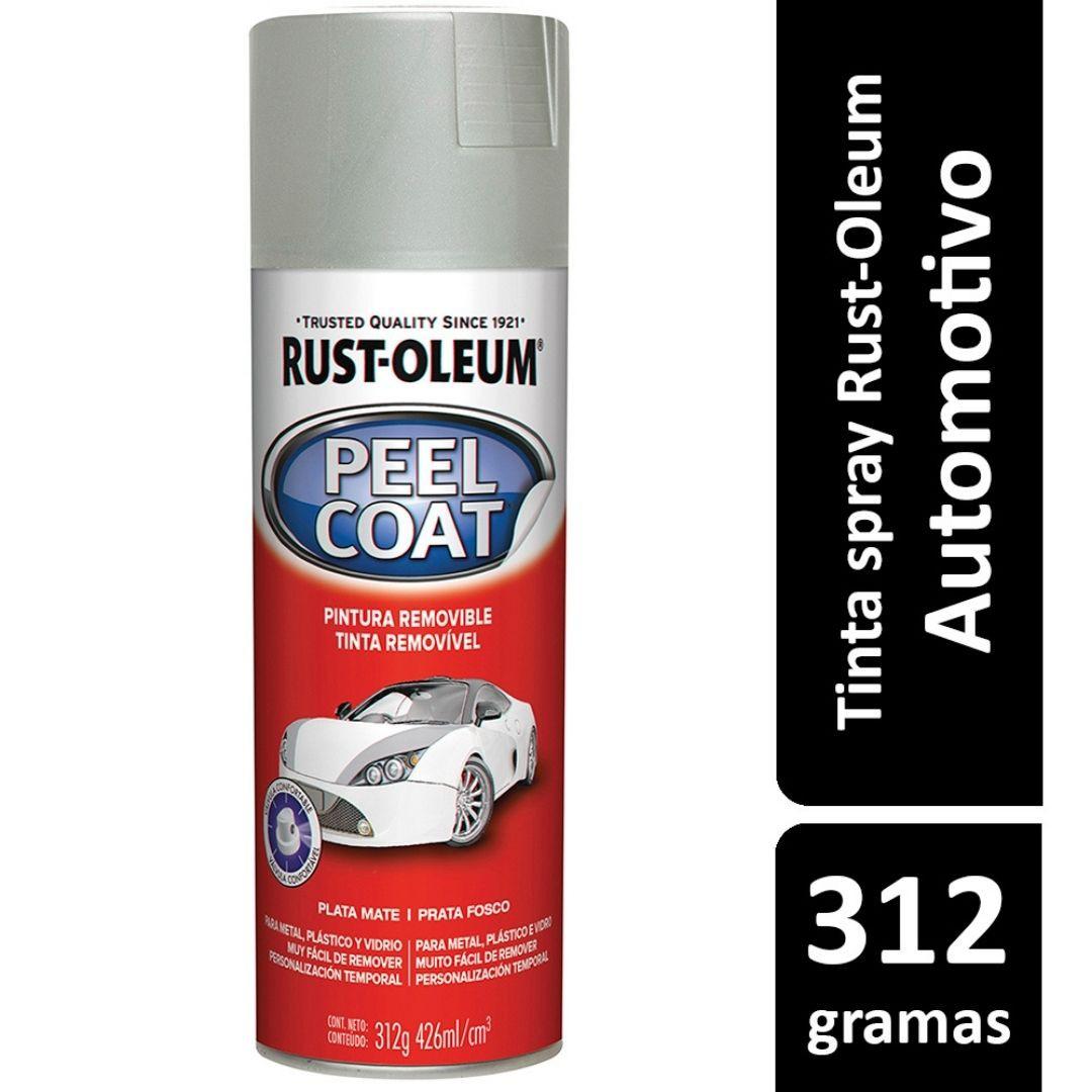 Tinta Spray Peel Coat Prata Fosco Ref: 29422  Rust- Oleum