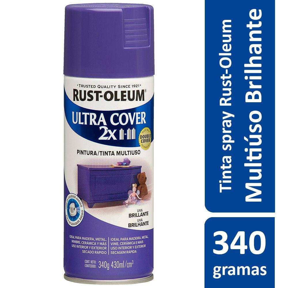 Tinta Spray Ultra Cobertura Uva Brilhante Ultra Cover 340g Rust Oleum