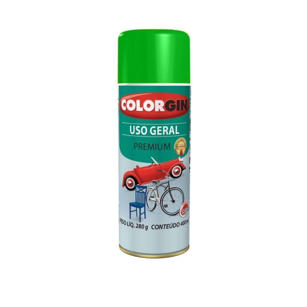 Tinta Spray Verde 400ml Ref: 55091 Colorgin