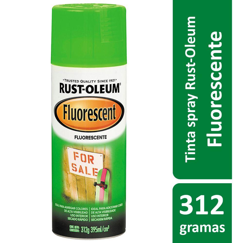 Tinta Spray Verde Fluorescente 312g Rust Oleum