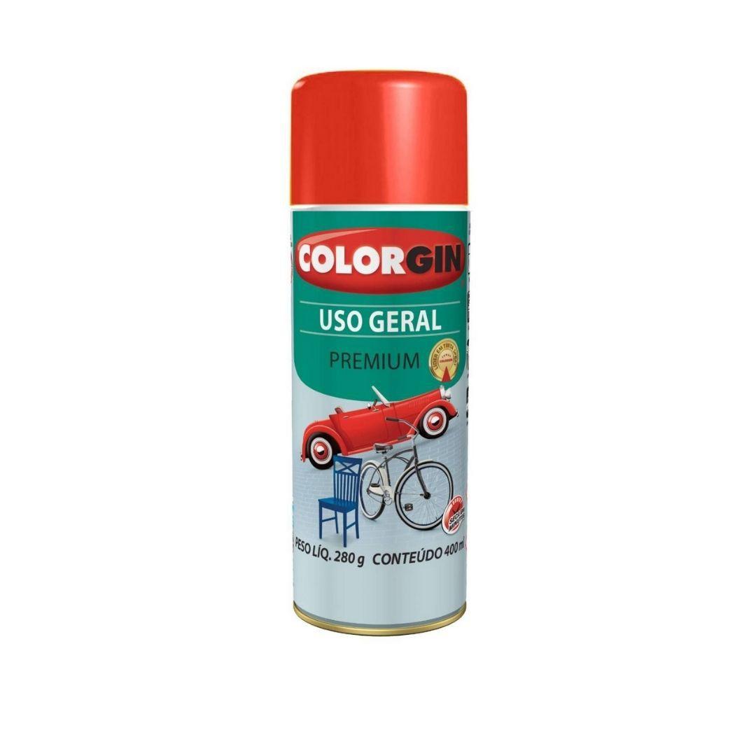 Tinta Spray Vermelho 400ml Ref: 55061 Colorgin