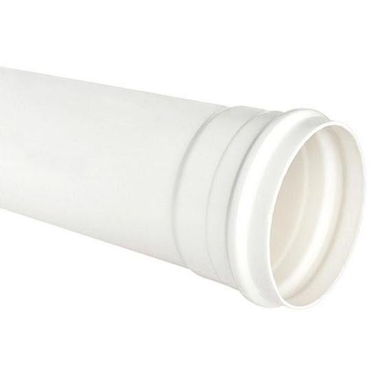 Tubo de Esgoto Branco 4