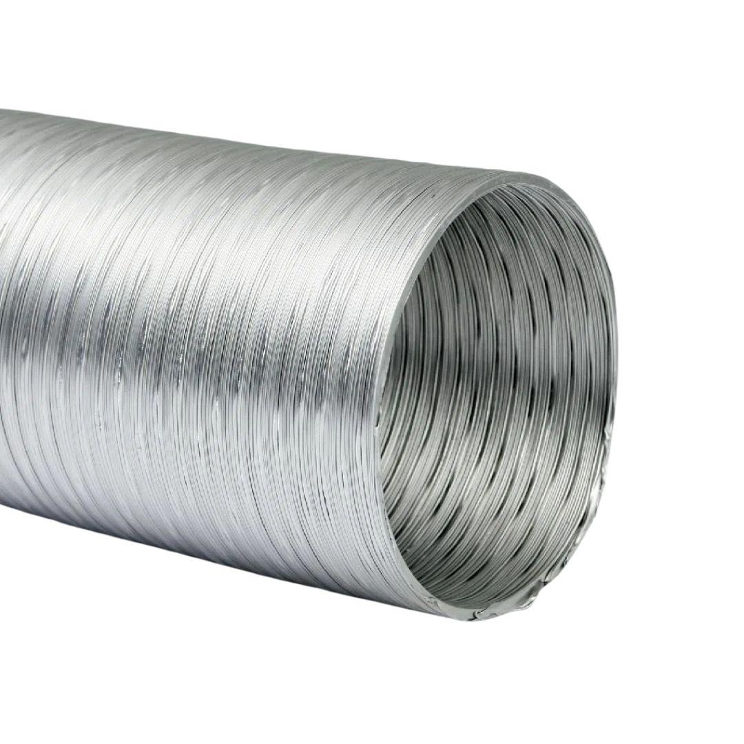 Tubo Flexível para Exaustão de Alumínio 60M X 1,5M Flextic