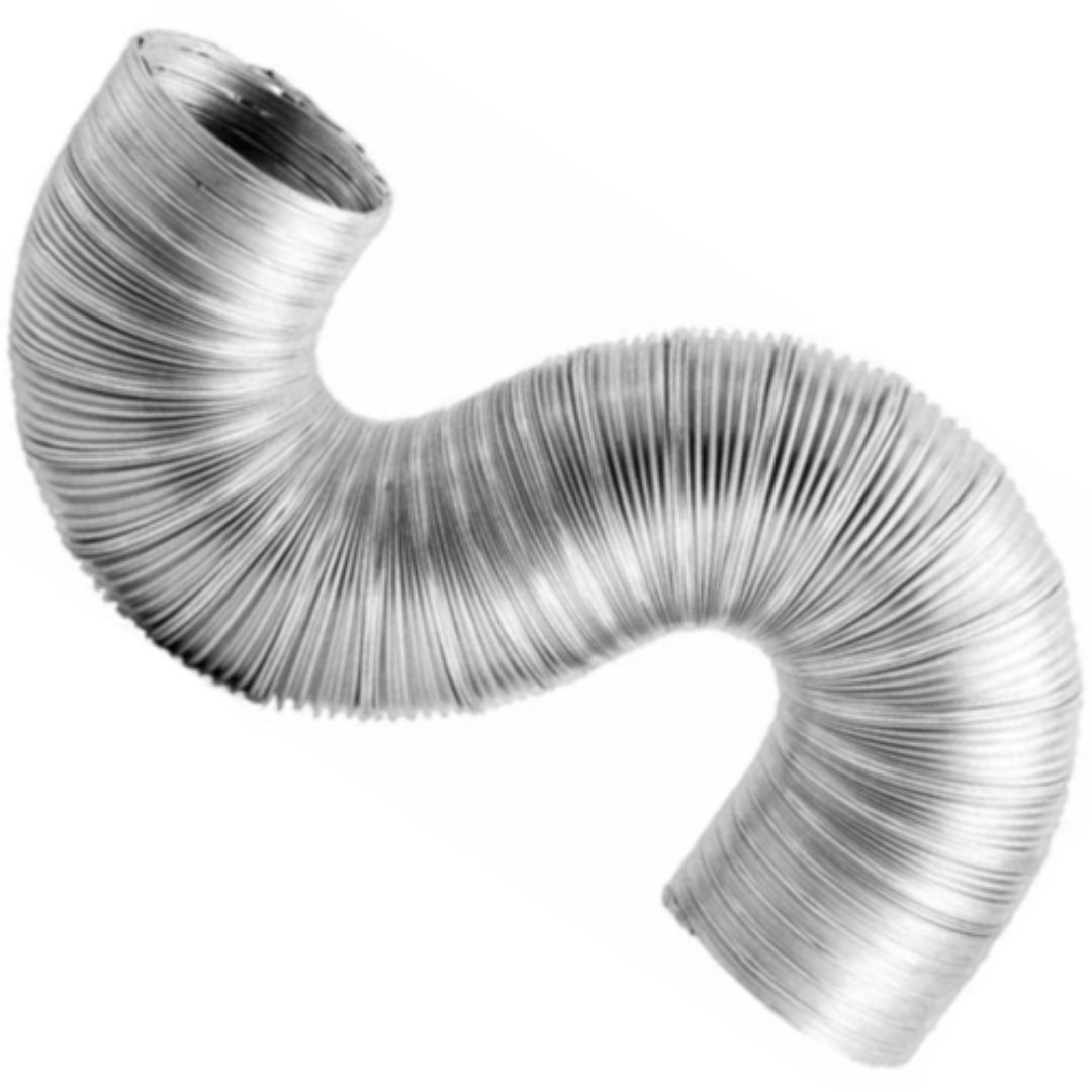 Tubo Flexível para Exaustão de Alumínio 80M X 1,5M Flextic