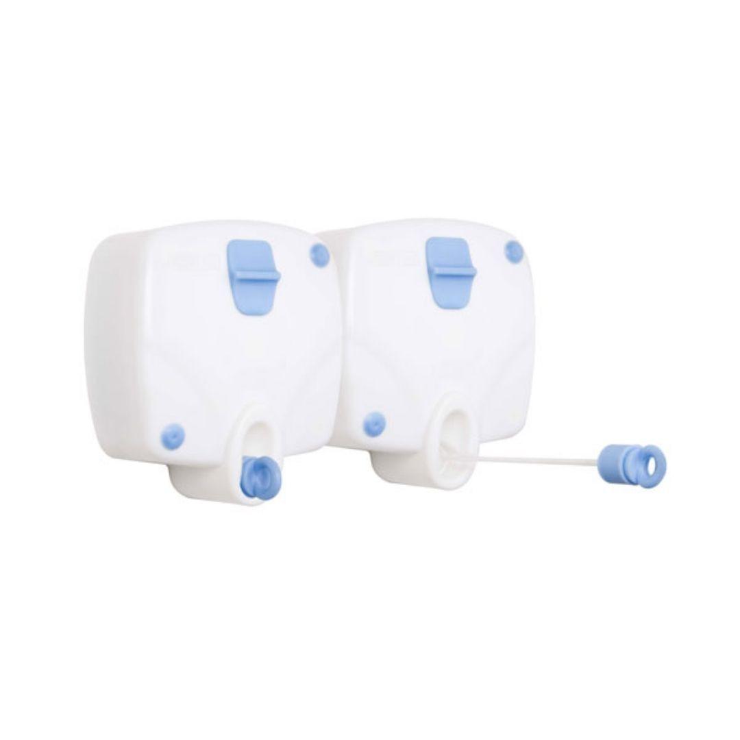 Varal Retrátil de Parede Branco Rodoflex c/ 2 unidades Branco Secalux