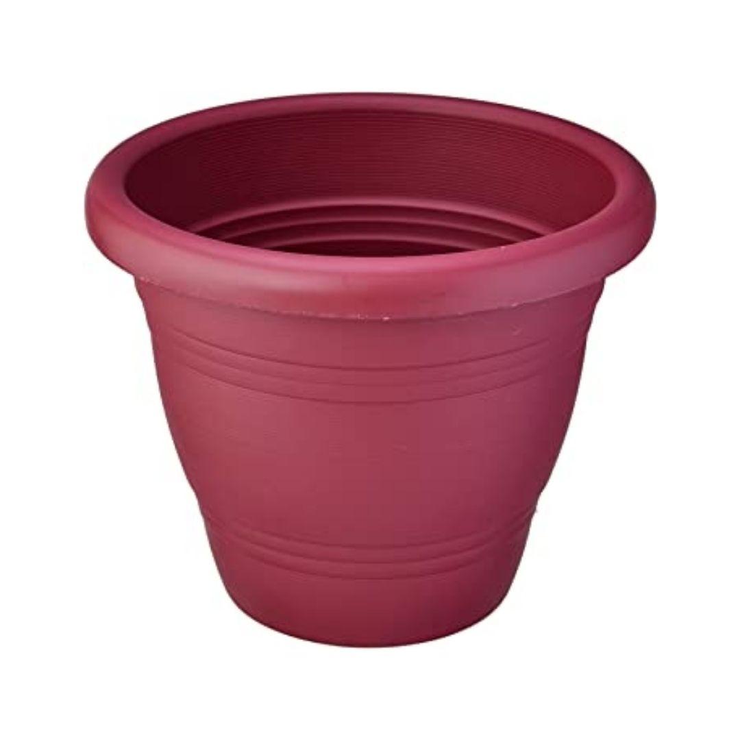 Vaso para Planta Vinho 19cm Ref: PR6043-3 - Primafer