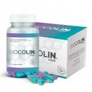 BIOCOLIN HAIR 500MG - Pote com 60 capsulas