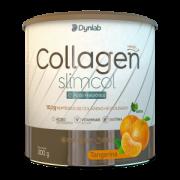 COLLAGEN SLIMCOL 300g Tangerina- Colágeno Verisol + Ácido Hialuronico