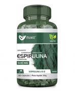 ESPIRULINA 500MG - 60 CÁPS