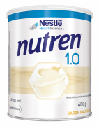 NUTREN 1.0 BAUNILHA LATA 400G
