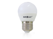 LAMPADA LED BOLINHA 4W 6500K BIV OUROLUX S30