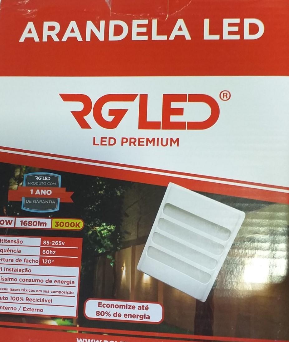ARANDELA LED 20W BR BIV MORNA RG ARD20W-2 GADITA