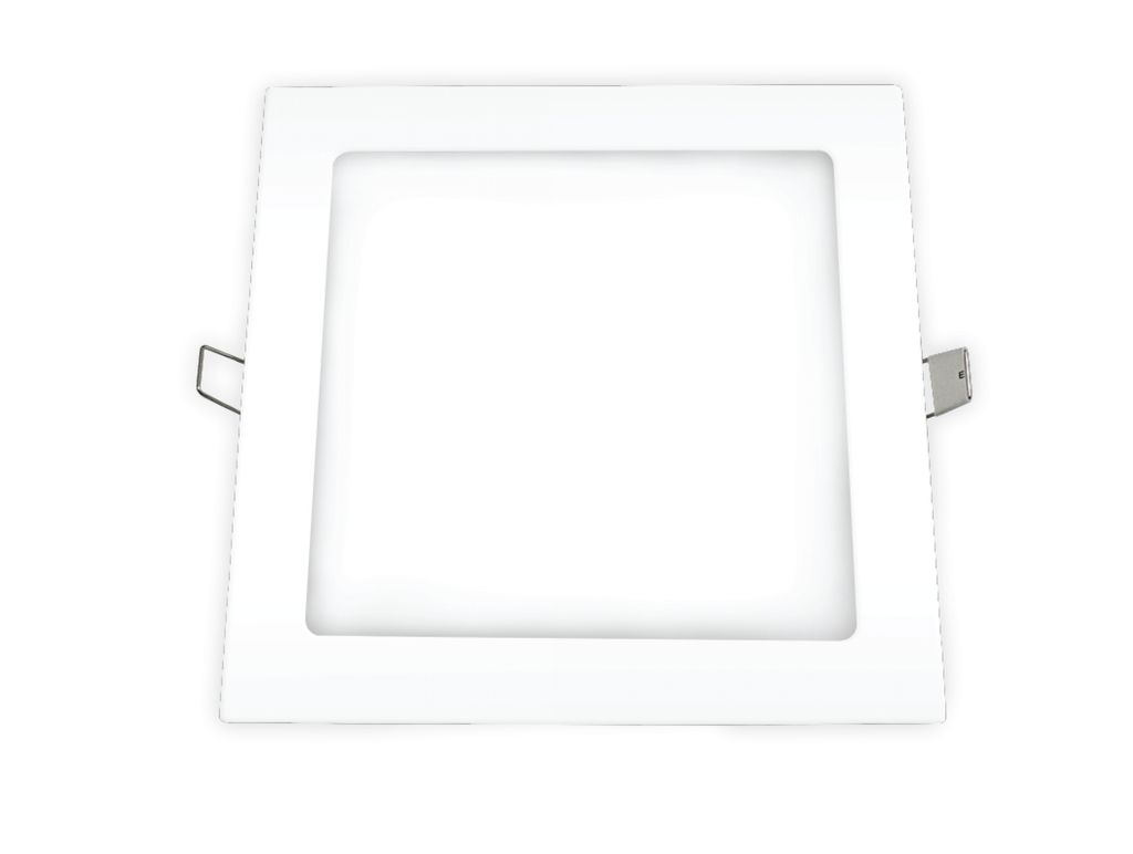 PAINEL LED EMB QUAD 18W 6.4K OUROLUX
