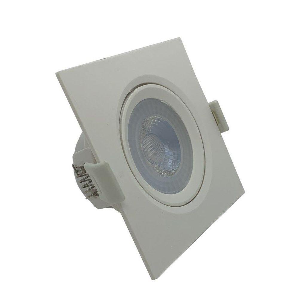 SPOT LED QUAD 5W COB 6.5K BIV ECONOMAX