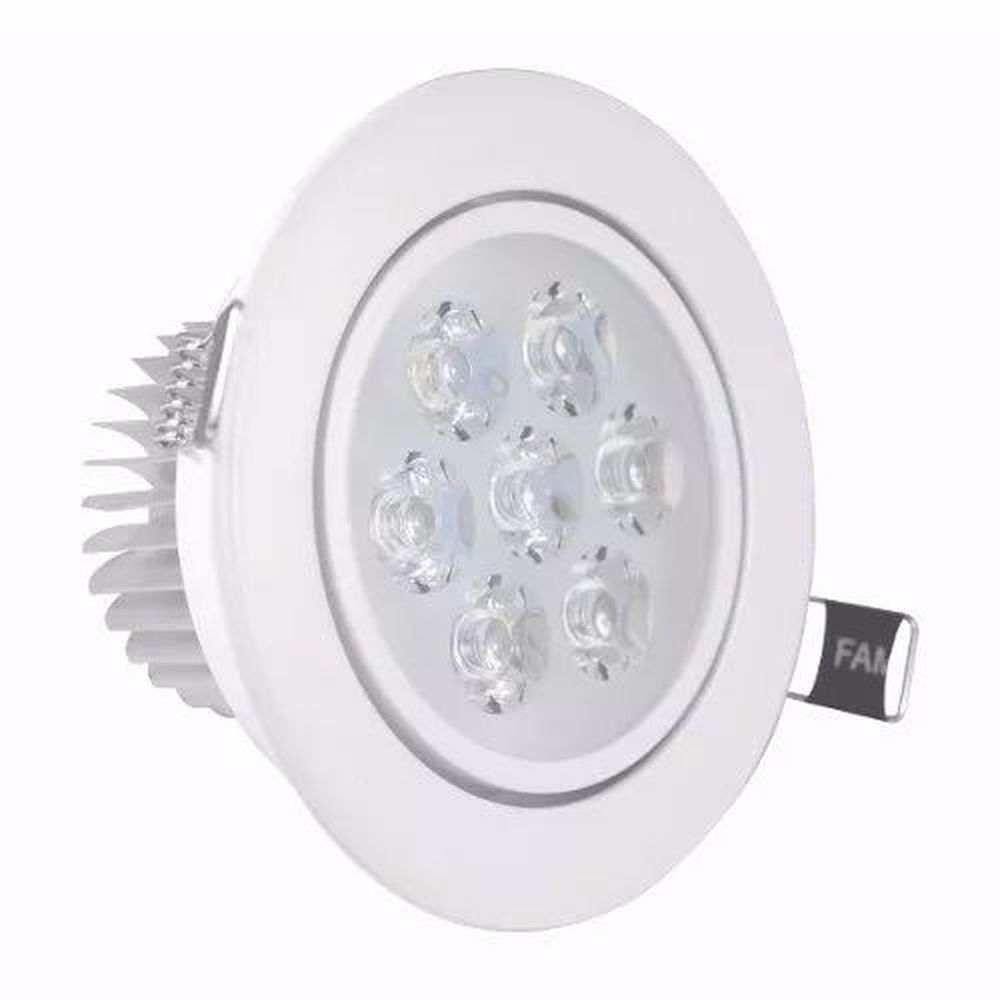 SPOT LED RED 7W BR FRIO