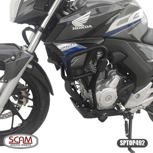 Scam Sptop492 Protetor Motor Carenagem Cb Twister250 2016+