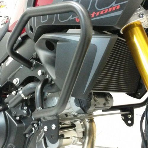 S207+S289 Protetor Motor com Pedaleiras V Strom 1000