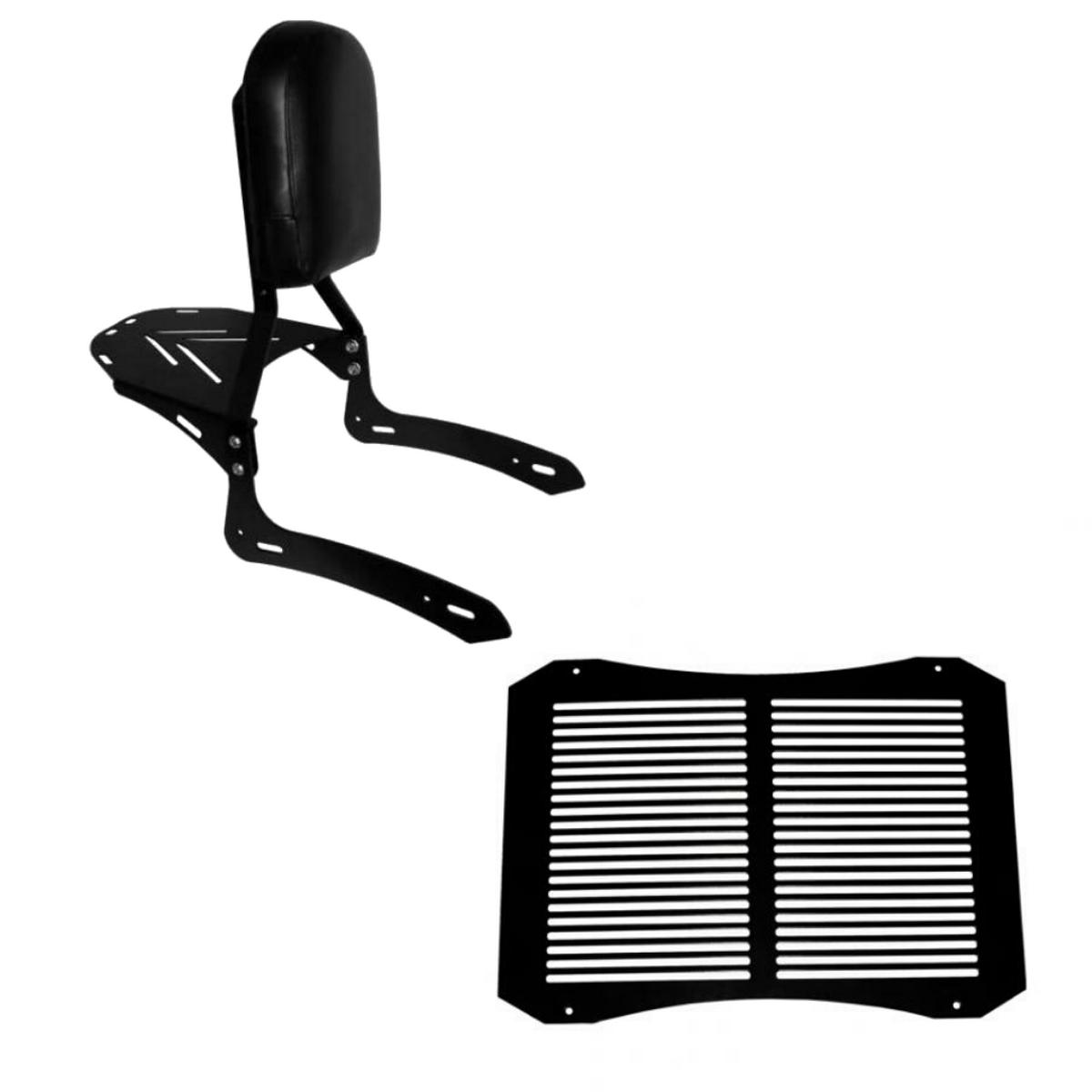 KIT Sissybar + Protetor de radiador Vulcan S 650
