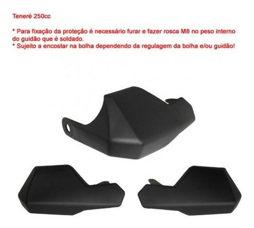 S220 Protetor De Mão Yamaha Tenere 250